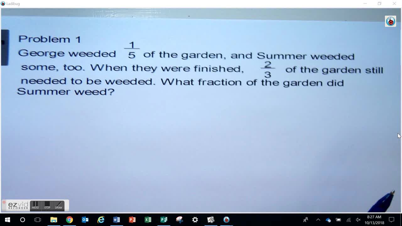 Multi-Step Addition and Subtraction Problems Day 39