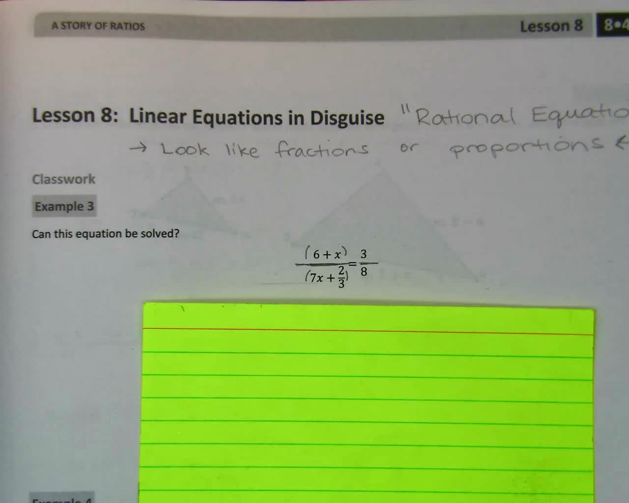 Gr8 Rational Equations