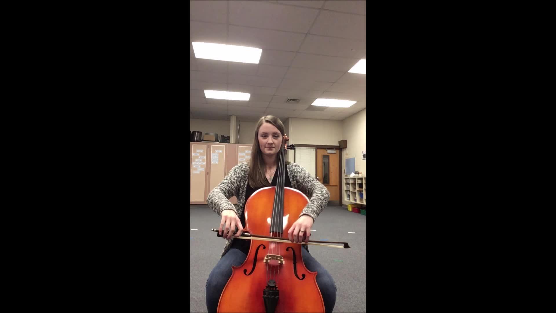 Cello Lightly Row