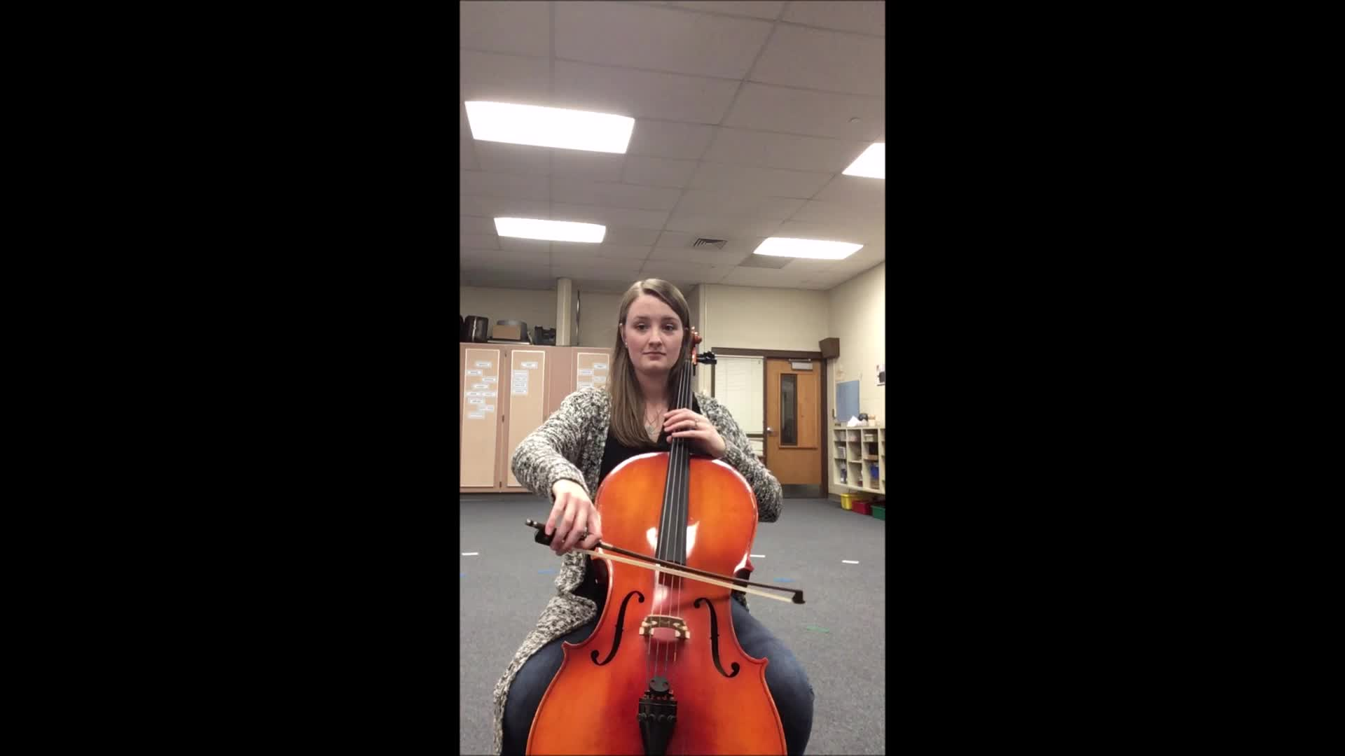 Cello Hot Cross Buns