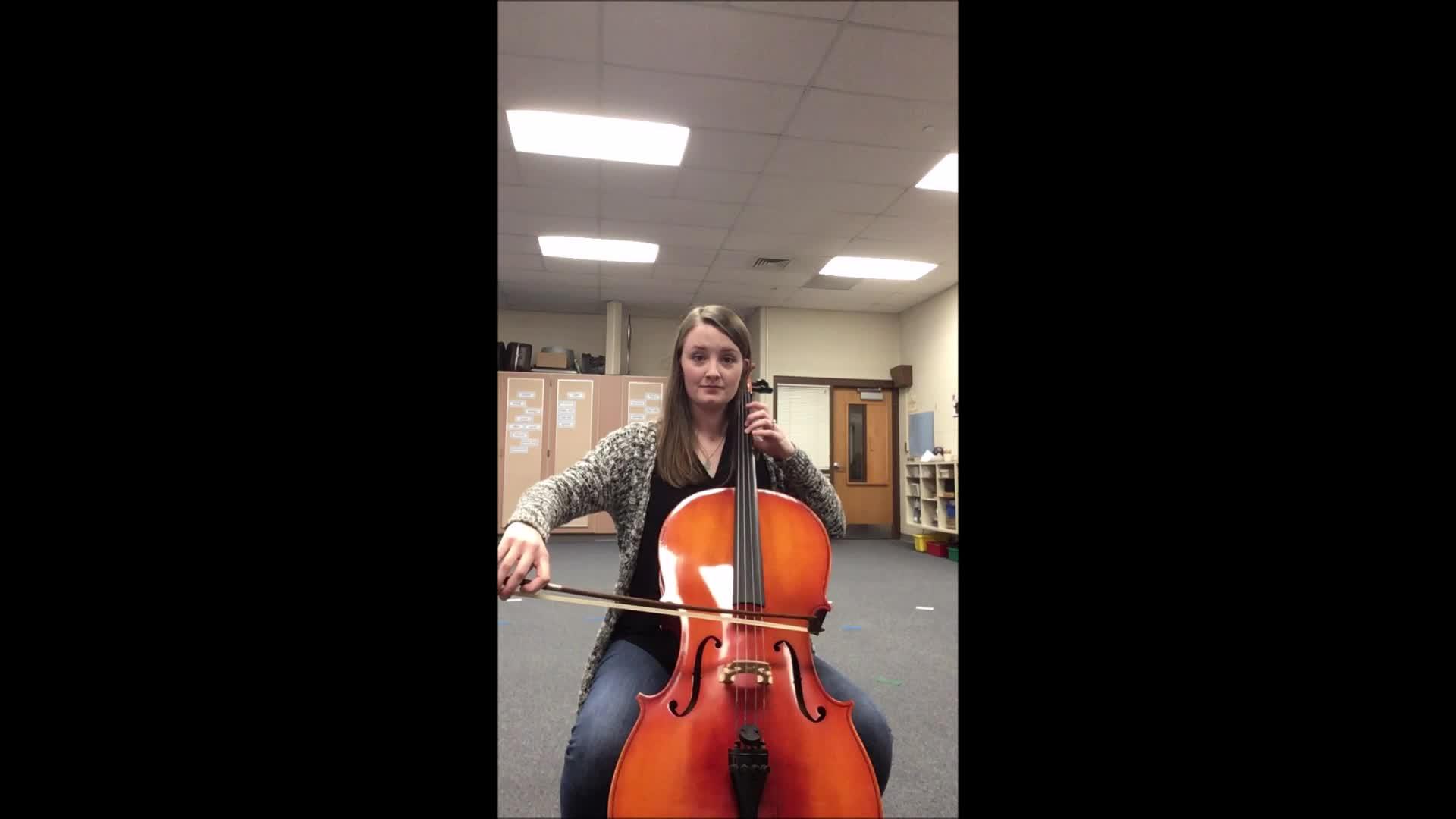 Cello Jingle Bells