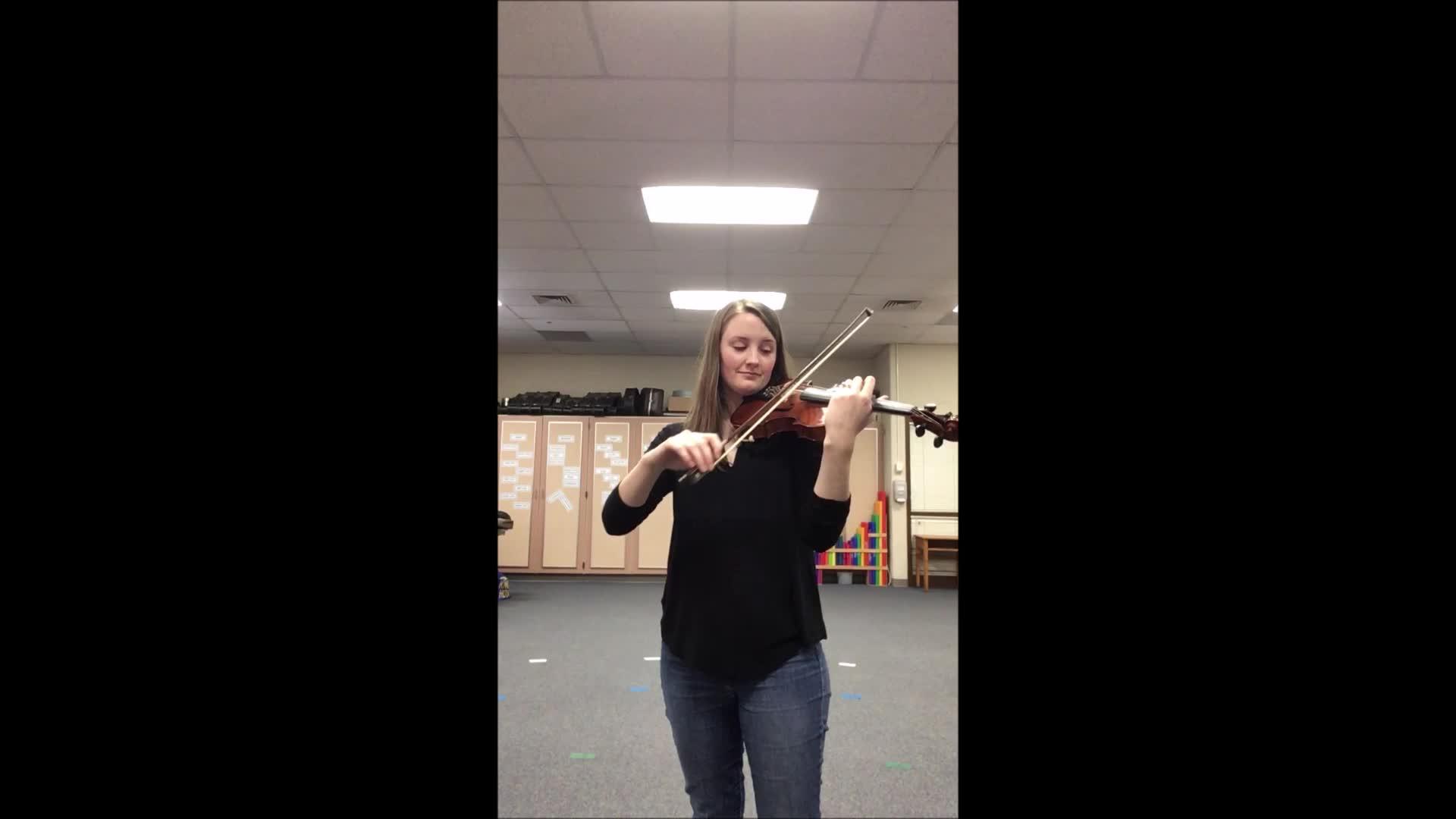 Violin Lightly Row
