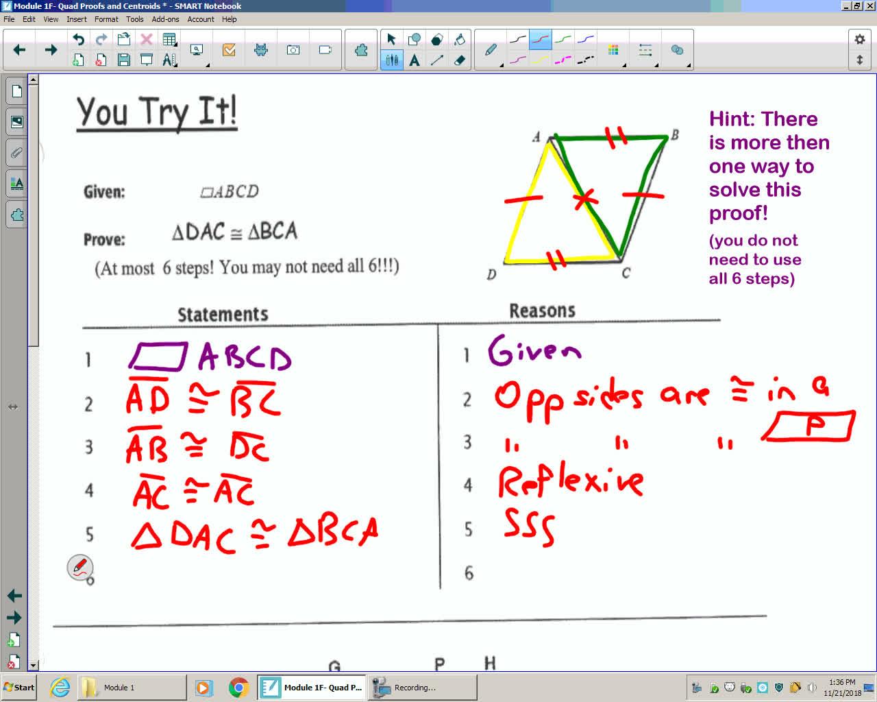 Mod 1F Unit 3B Lesson 1