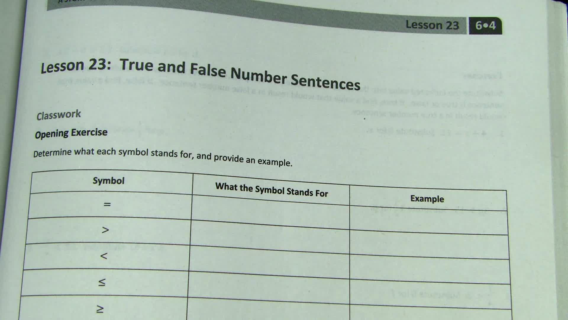 Module 4 - Lessons 23 & 24