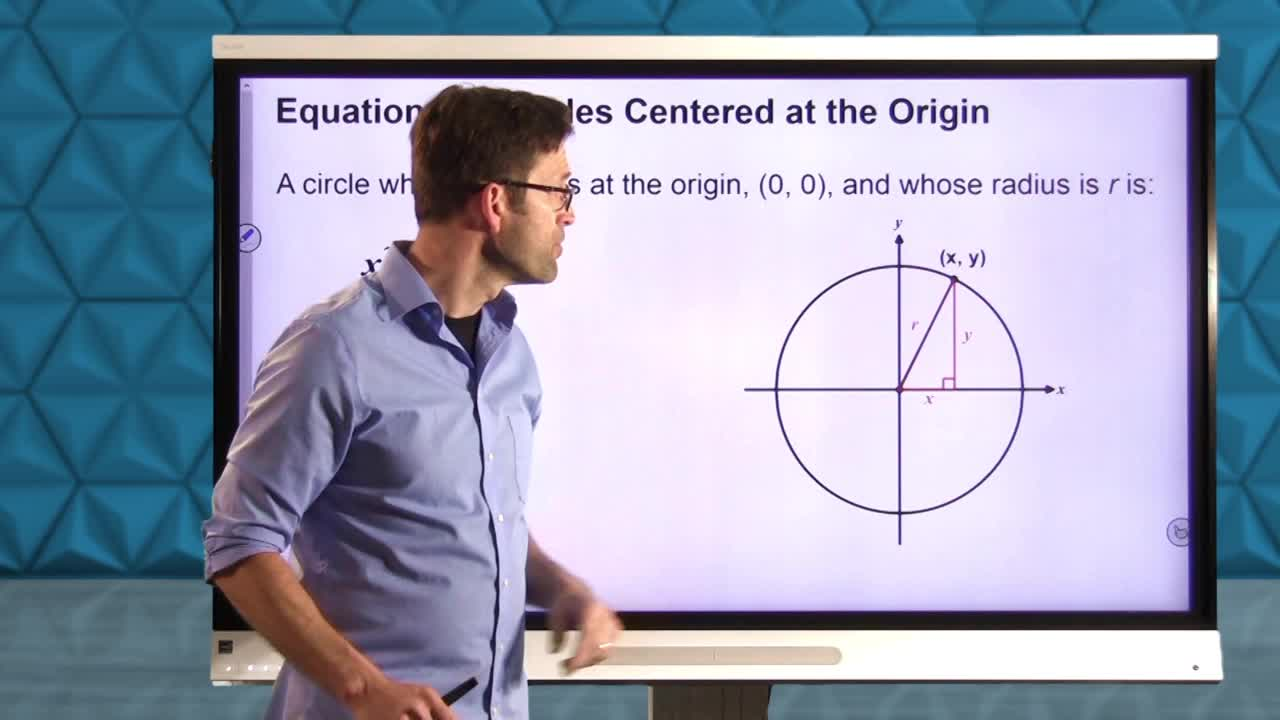 Common Core Geometry Unit 9 Lesson 9 Equations of Circles