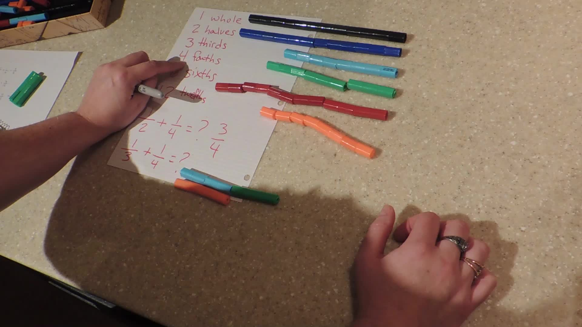 Adding Fractions with Different Denominators: Part 2