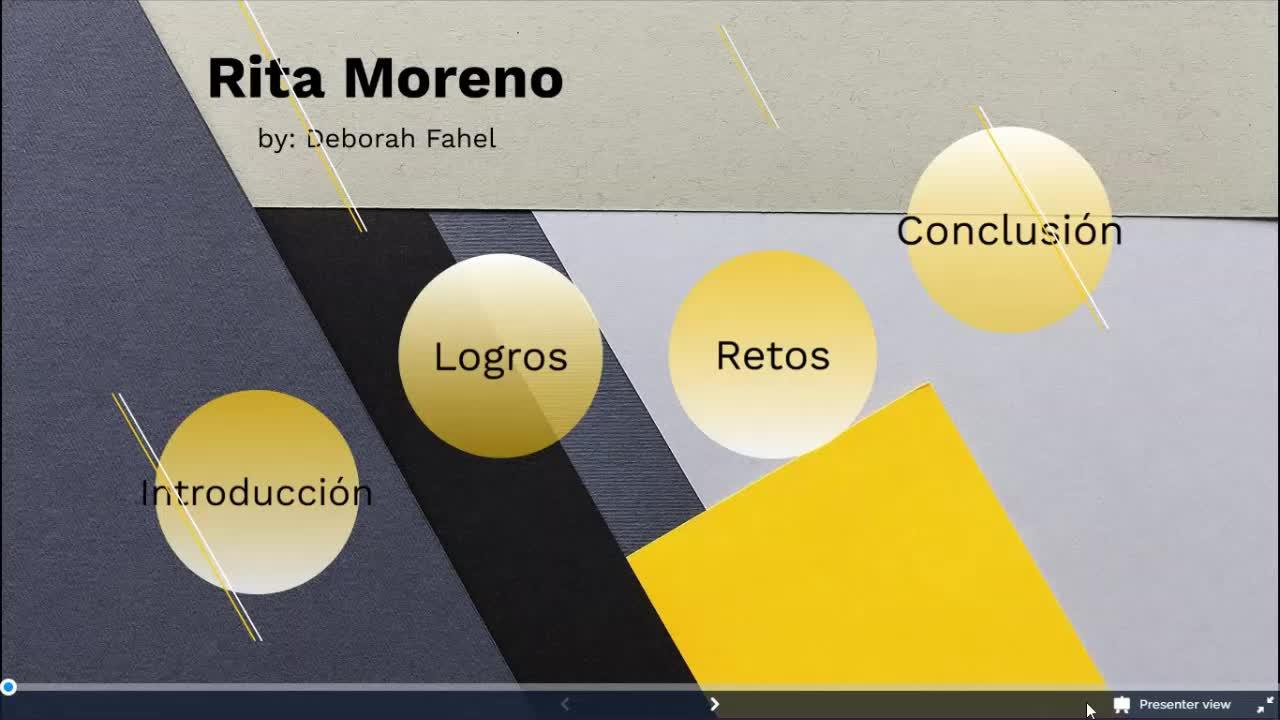 Rita Moreno Project