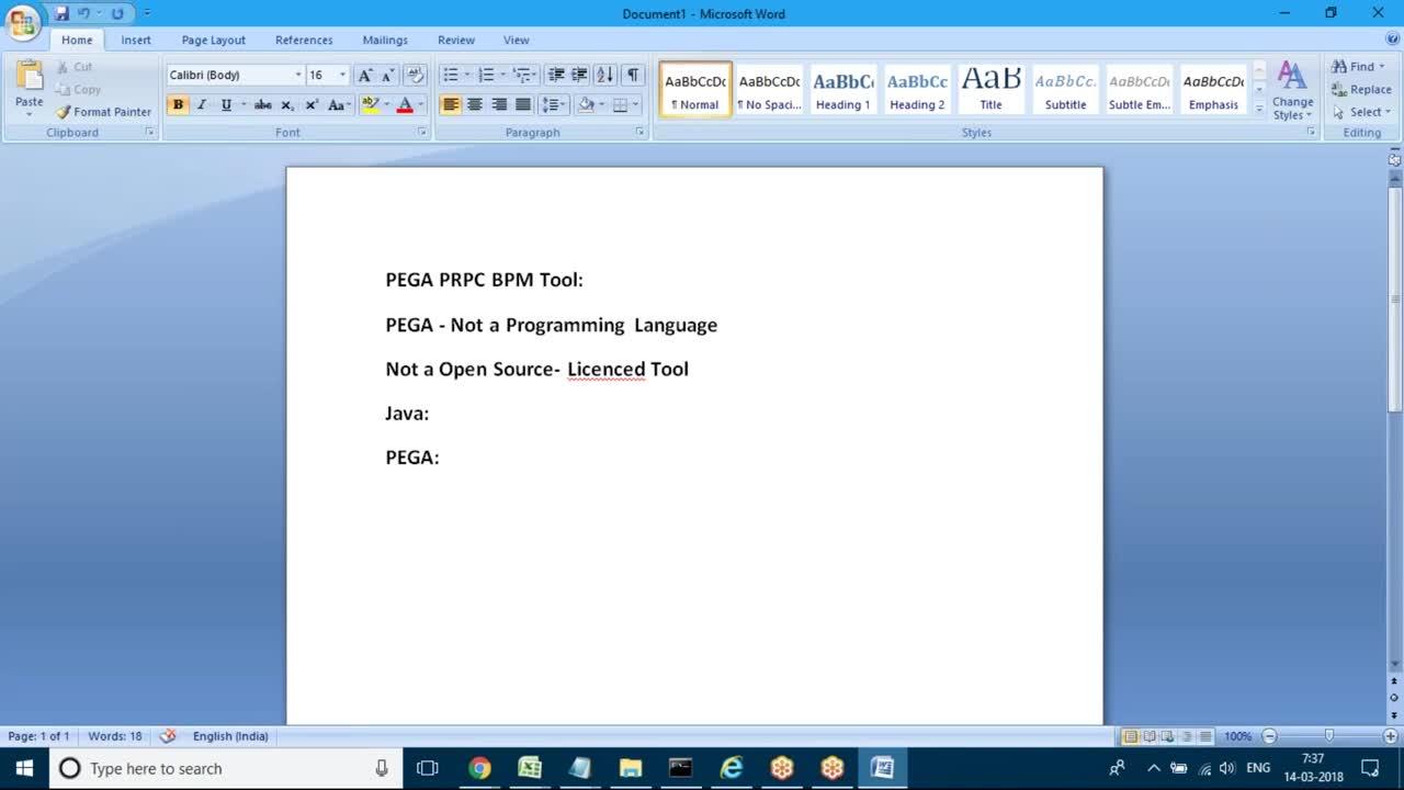 Pega Prpc Online/Classroom Tutorial Trainings