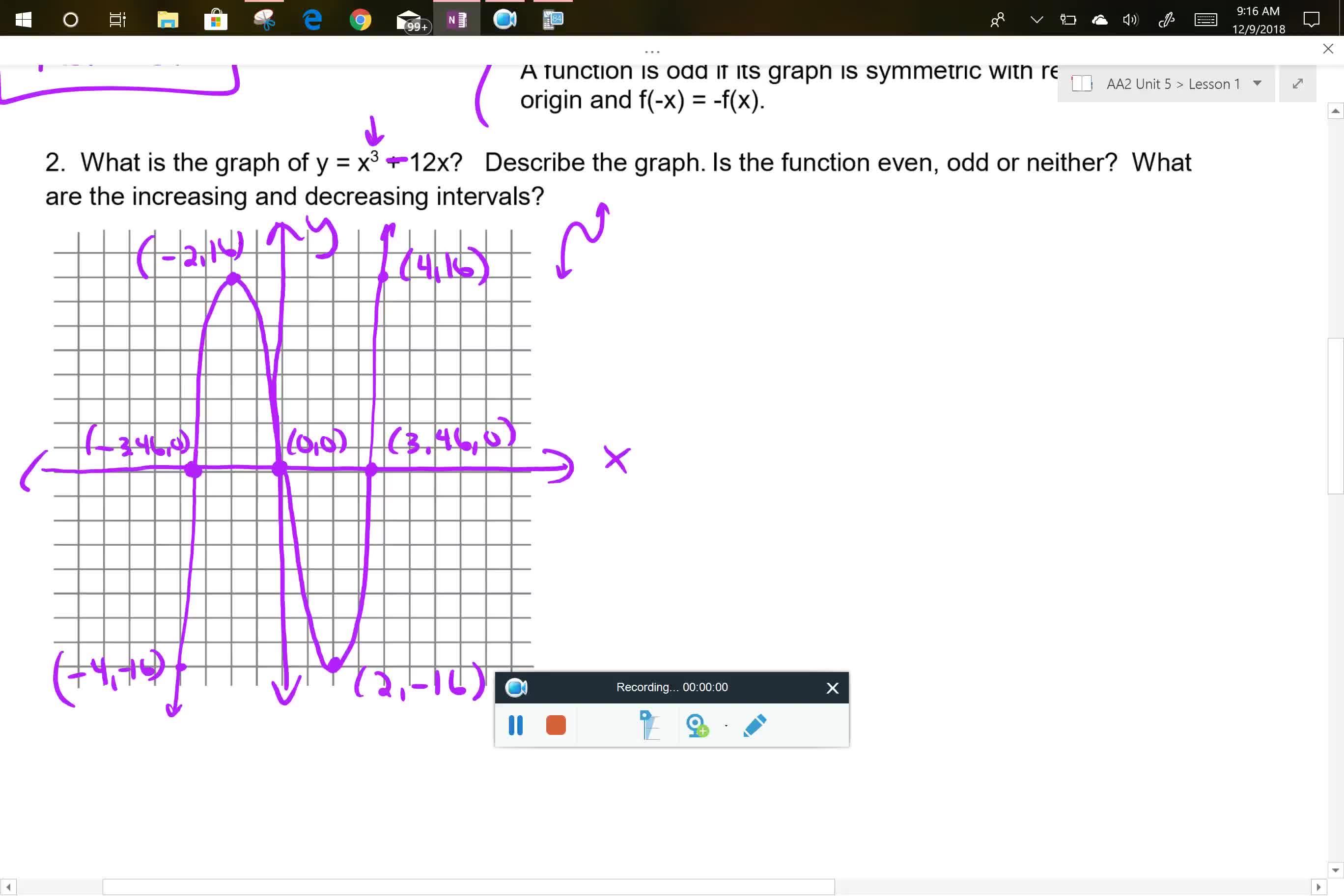 AA2 U5L1  Problem 2 part 2