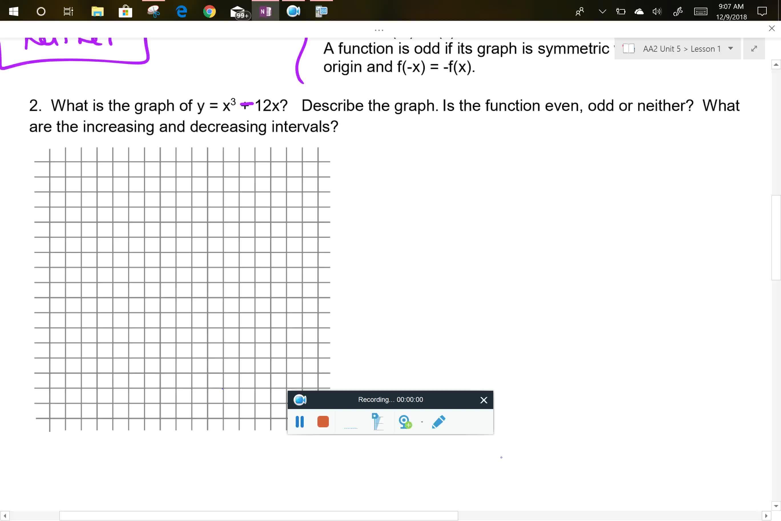 AA2 U5L1 Problem 2 part 1