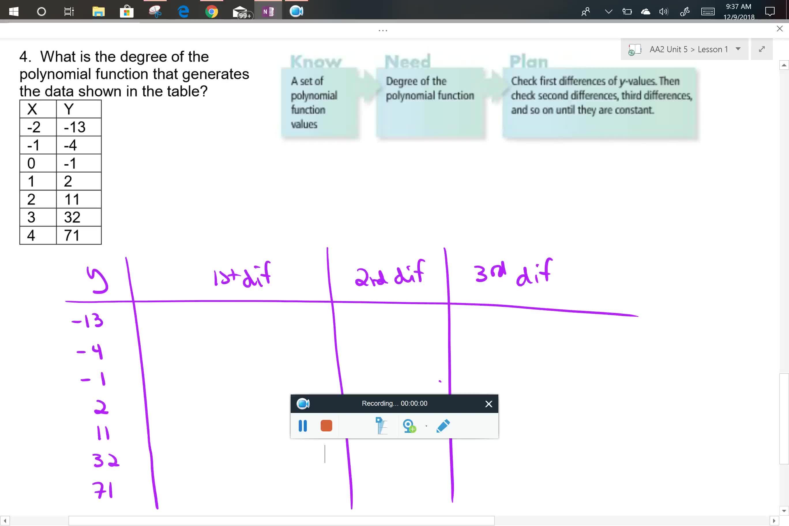 AA2 U5L1 Problem 4