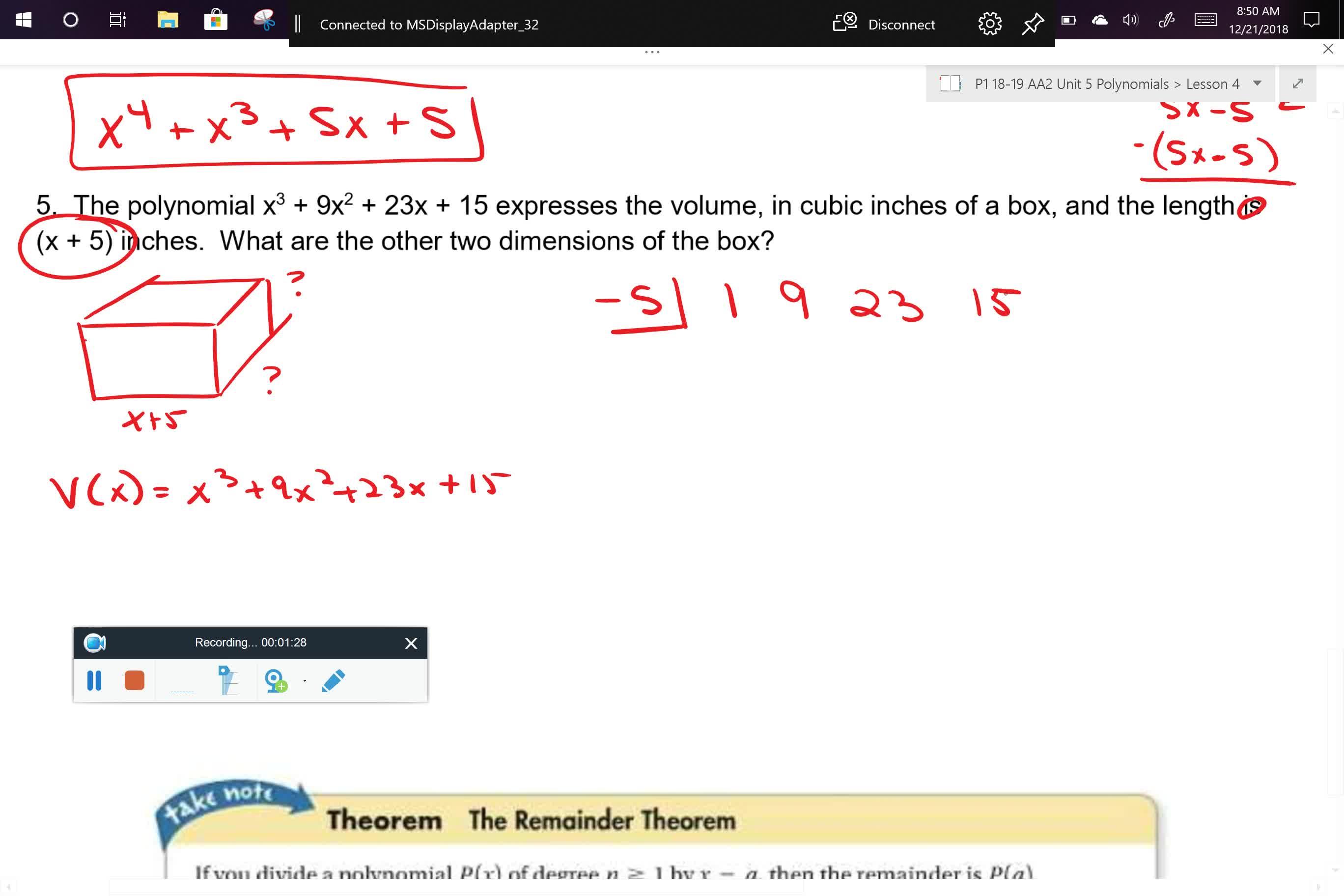 AA2 U5L4 Problem 5