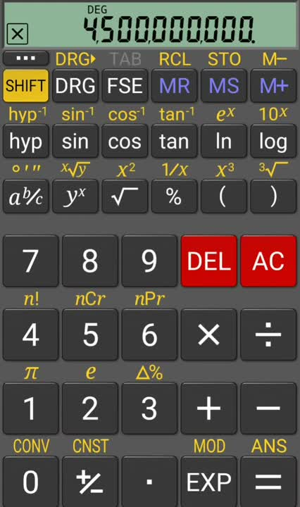 Scientific Notation on a Calculator