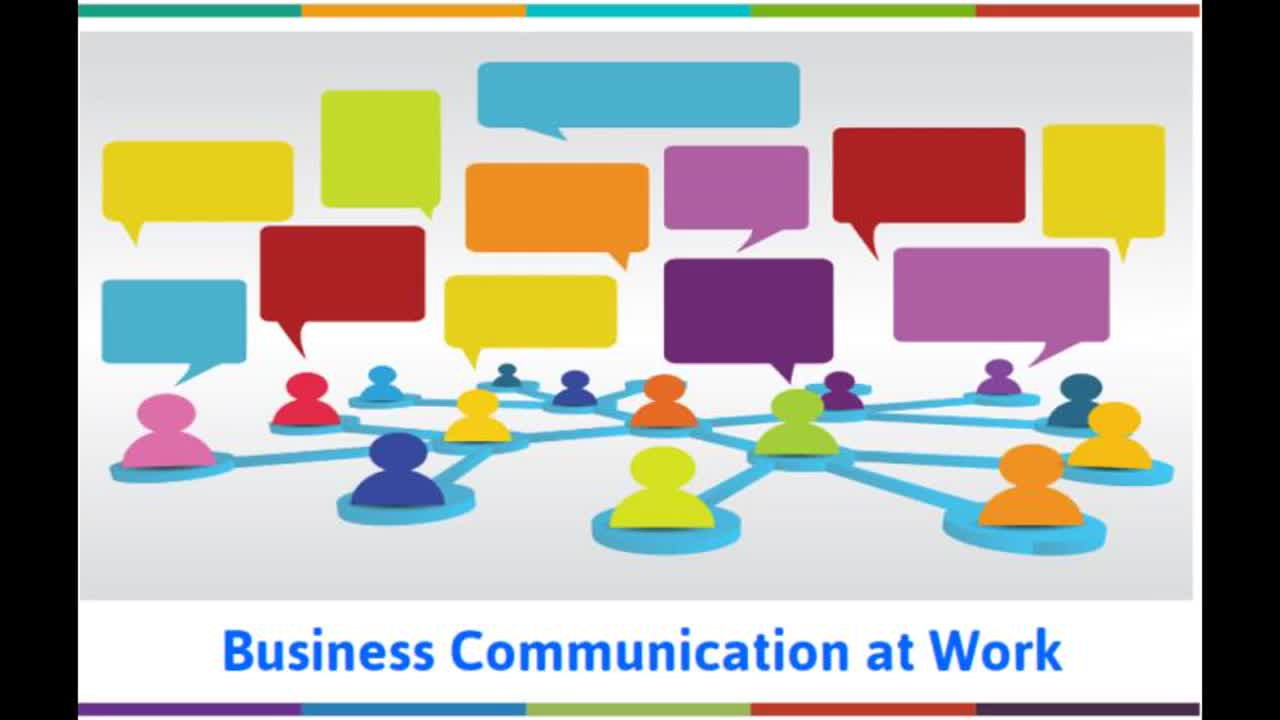 Teaching Business Communication at Work