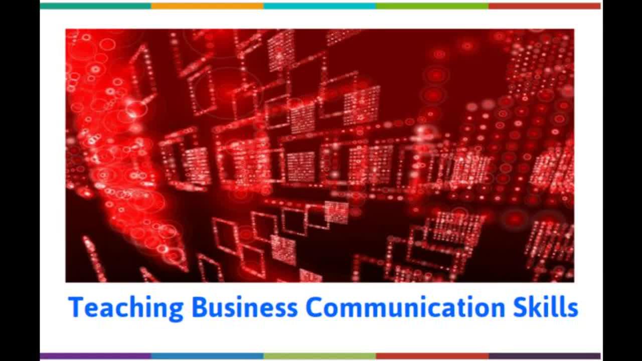 Teaching Business Communication Skills