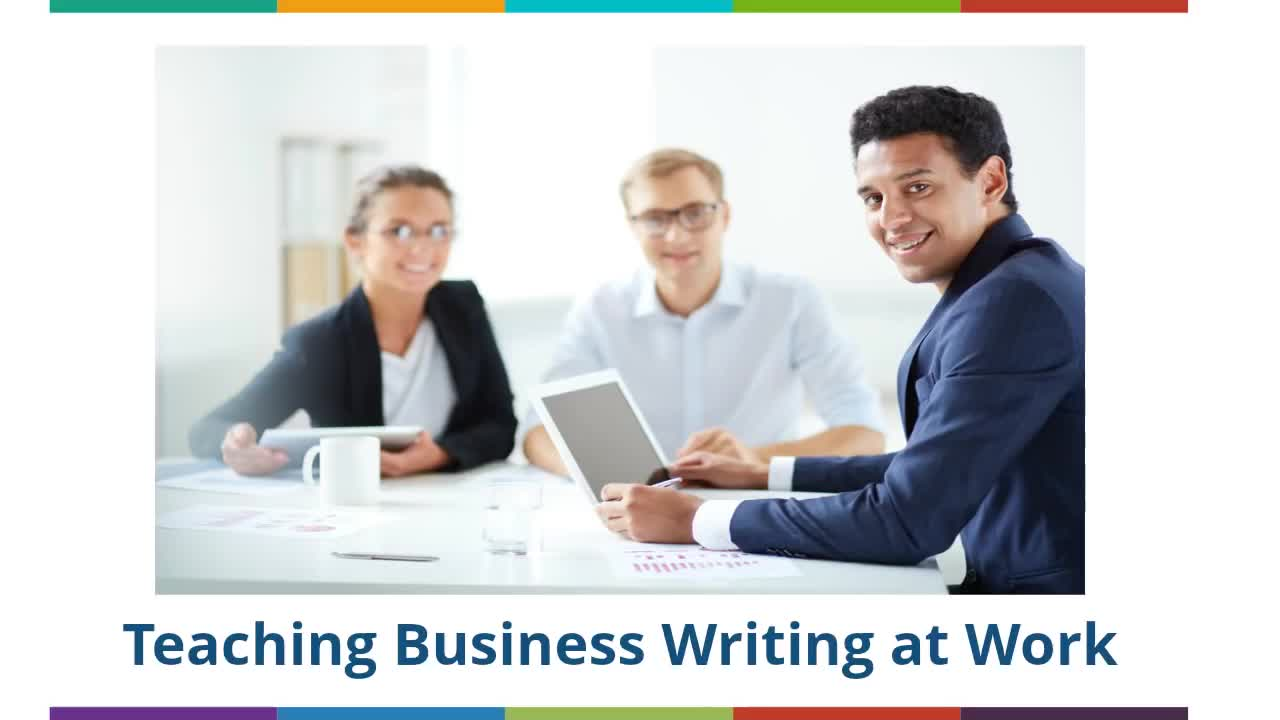 Teaching Business Writing at Work