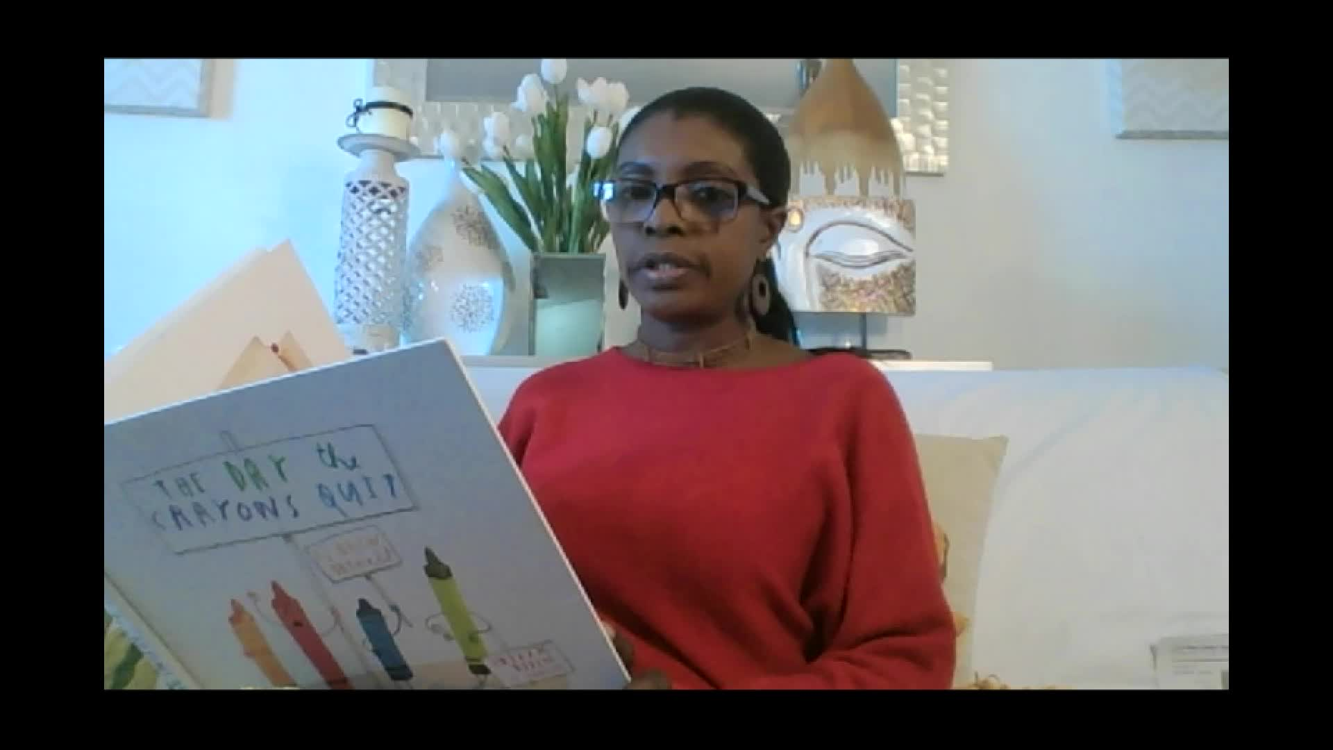 Bedtime story: The Day the Crayons Quit, by Drew Daywalt