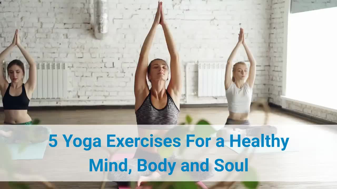5 Yoga Exercises For a Healthy Mind | HealthTime