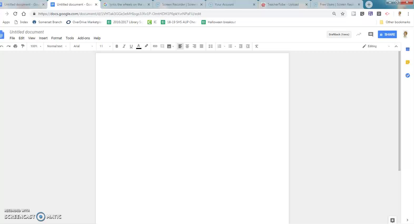 Google Docs - Titles and Graphics