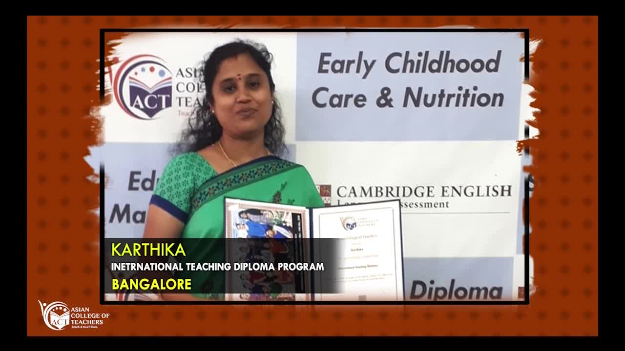 Course Review of International Teaching Diploma Course in Bangalore