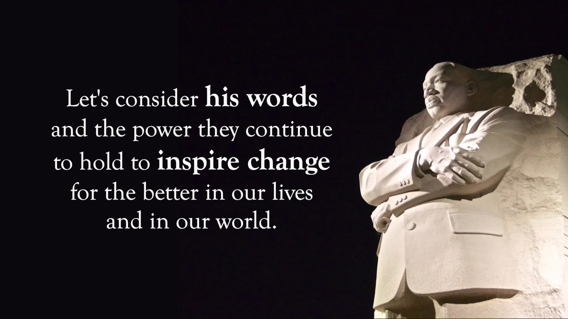 Martin Luther King, Jr. Quotes Activity