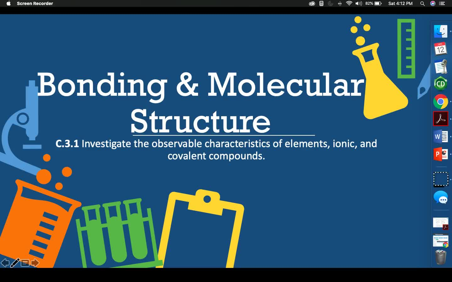 Bonding & Molecular Structure - Lesson 1
