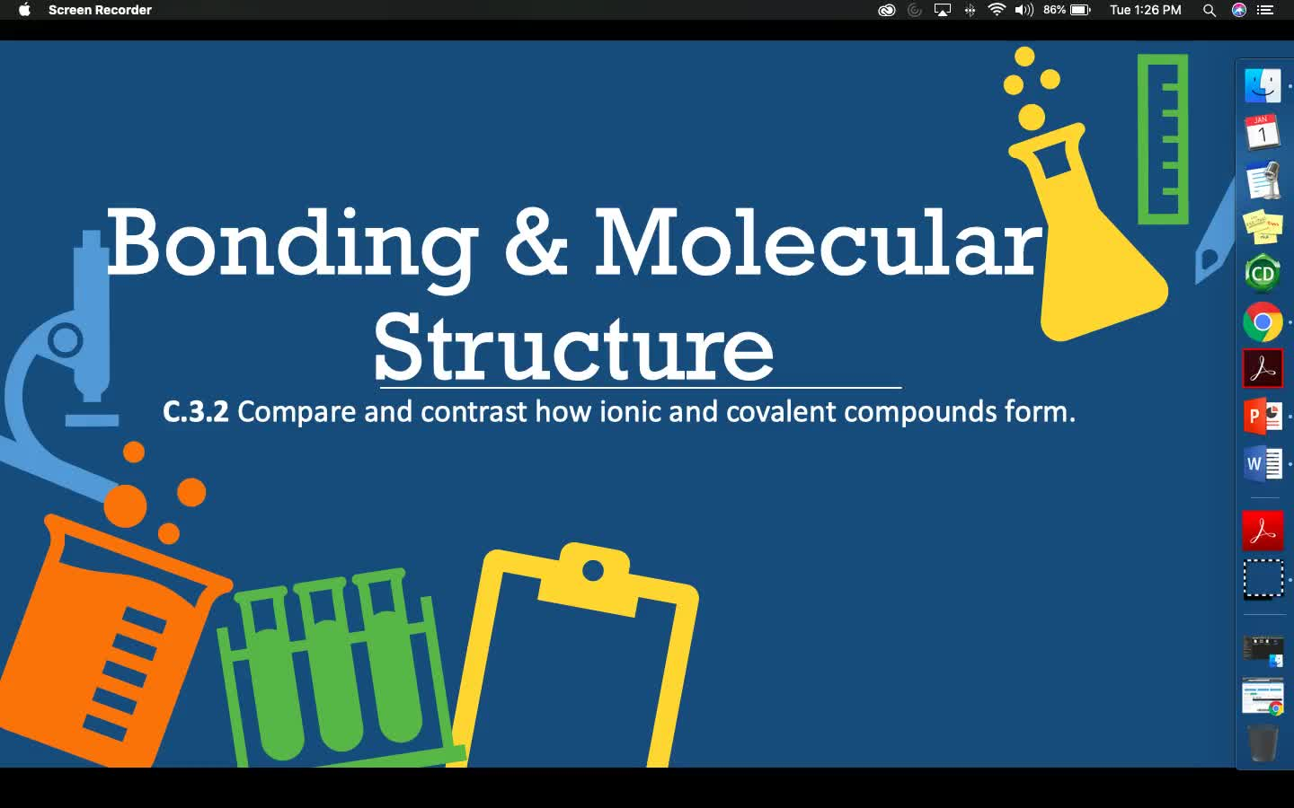 Bonding & Molecular Structure - Lesson 2