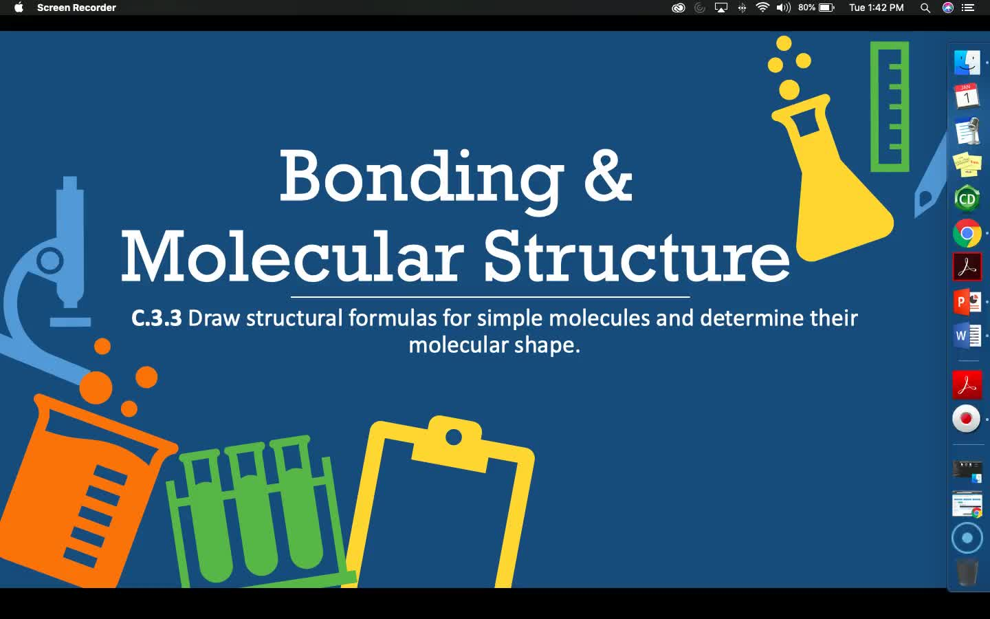 Bonding & Molecular Structure - Lesson 3