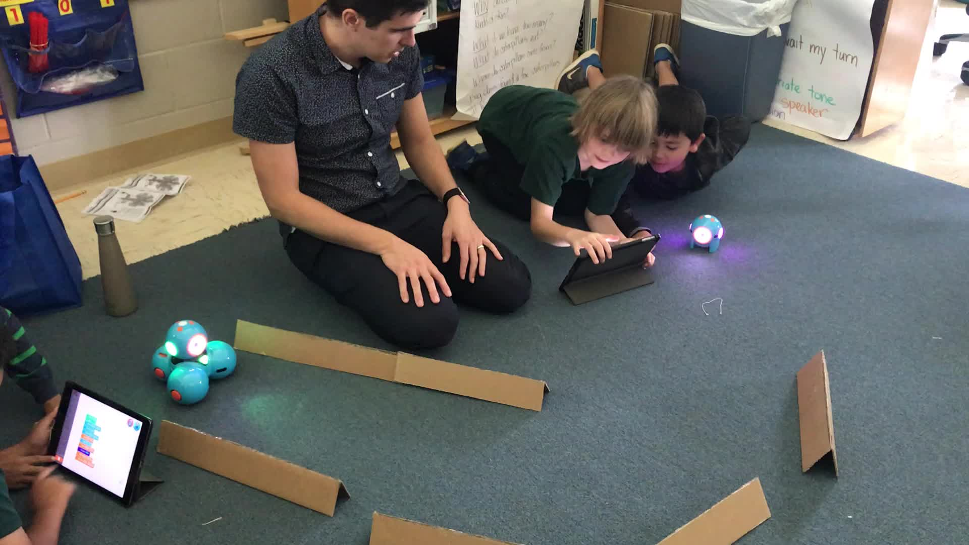 Dash and Dot with Mr. Winters