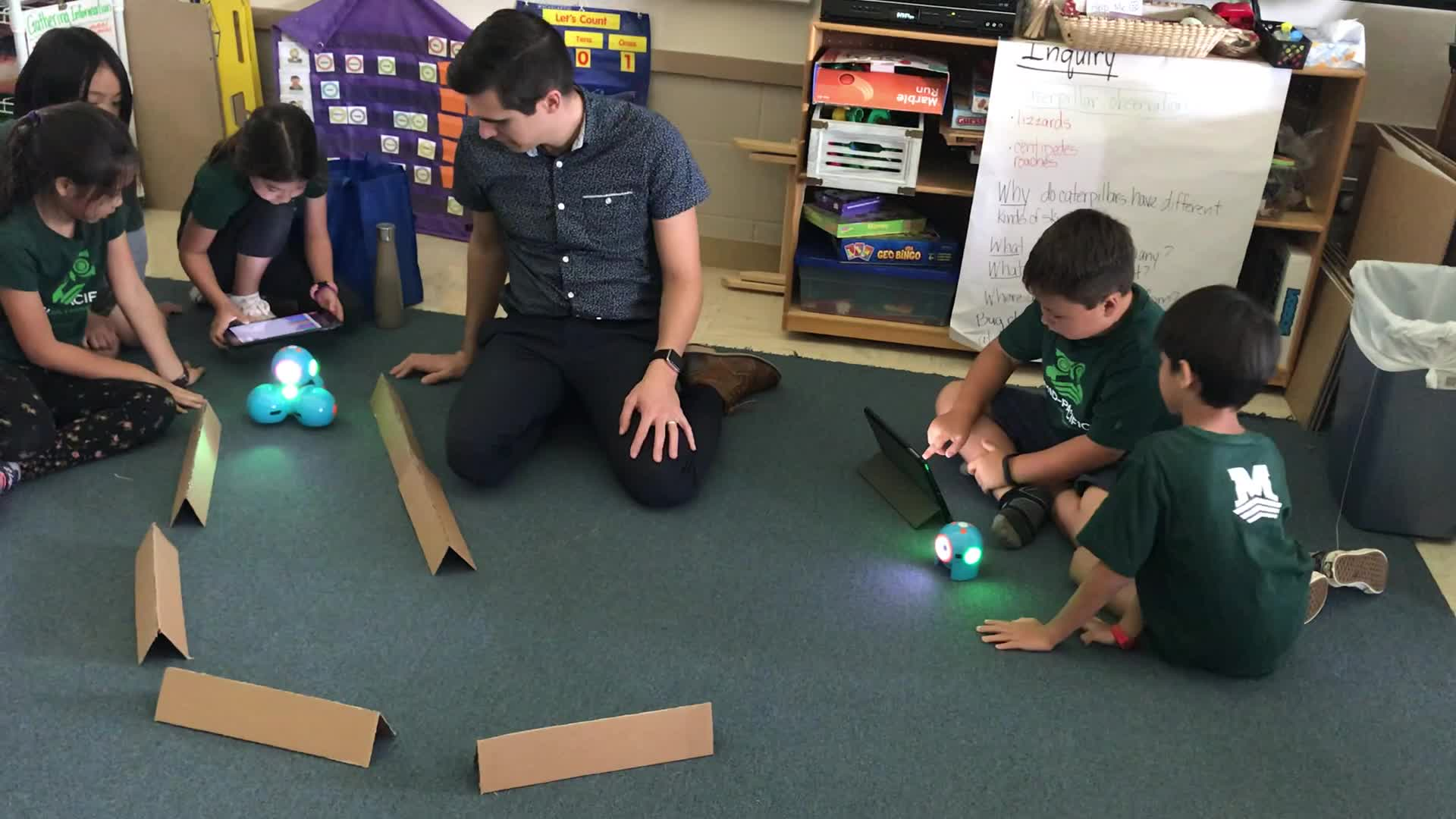 Dash & Dot with Mr. Winters