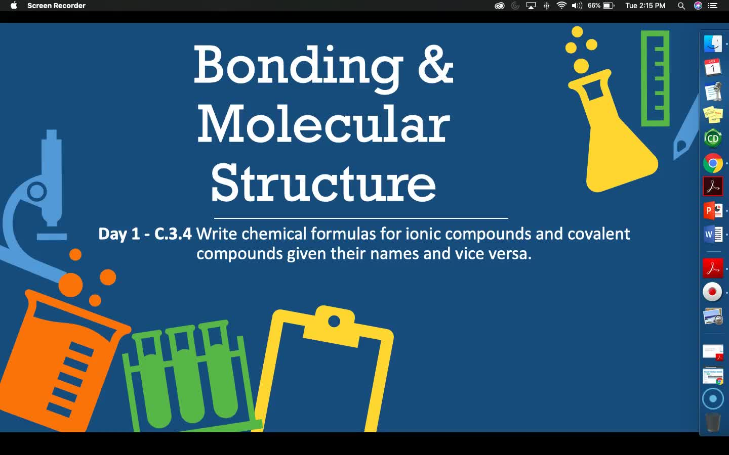 Bonding & Molecular Structure - Lesson 5