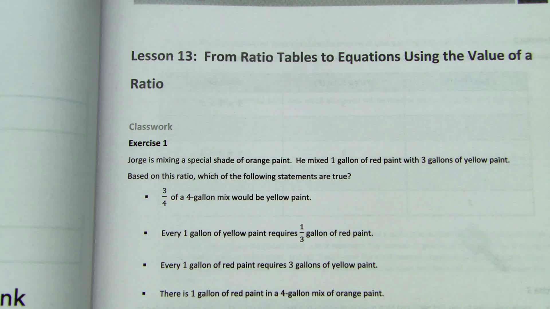 Module 1, Lesson 13