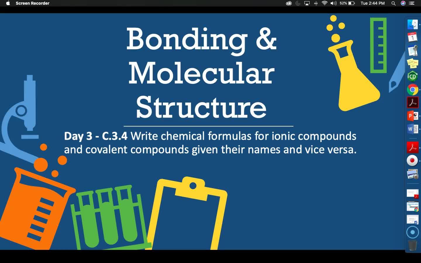 Bonding & Molecular Structure - Lesson 7