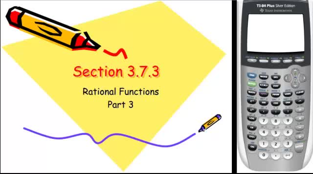Graphing Rational Function
