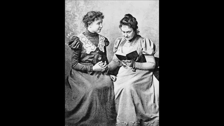 Helen Keller had 20/20 Vision!