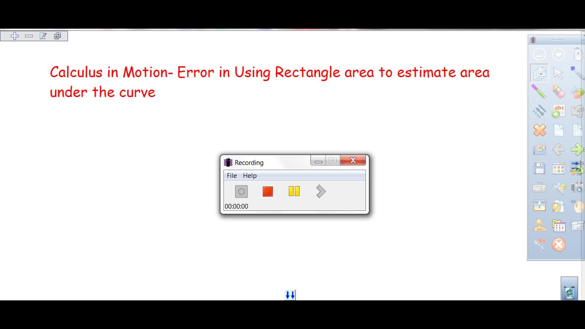 Riemann Sums to Definite Integrals