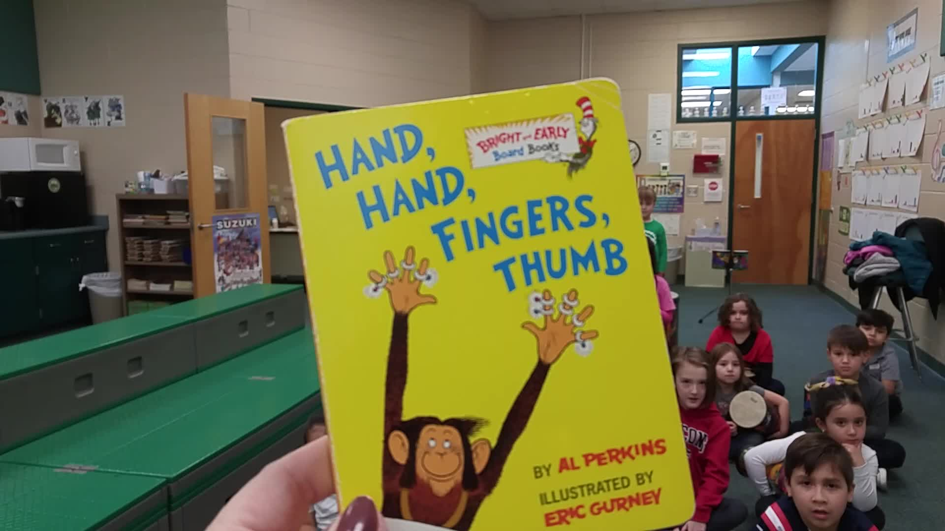 Hands, Hands, Fingers, Thumbs - drums - BES-Harper-Lenz
