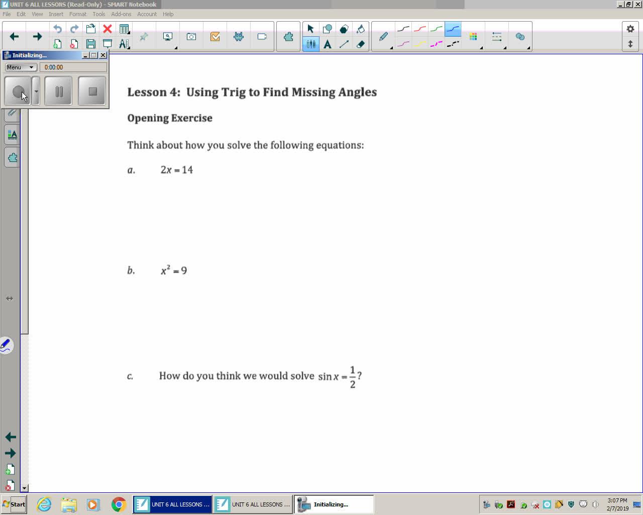 Mod 2E Unit 6 Lesson 4