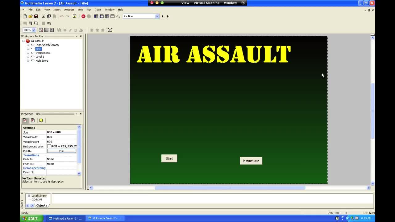 Air Assault Step 7