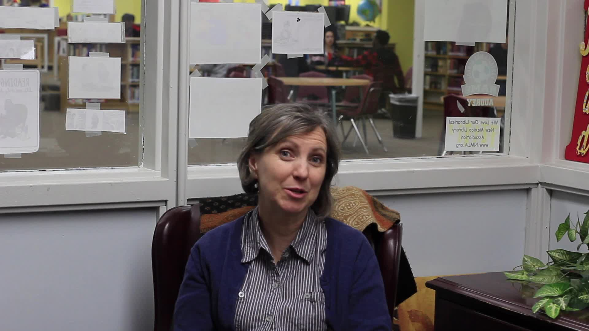 Interview with PHS Librarian Heather Christensen by Madison Chandler