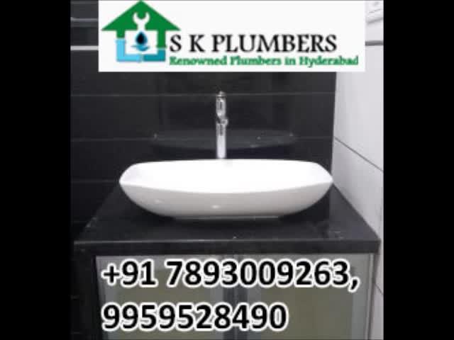 Plumbing Services in Hyderabad,Best Plumbing Services | SK Plumbers