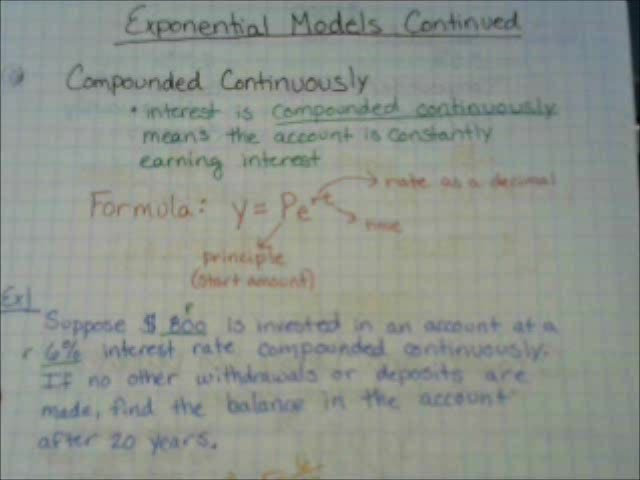ExponentialModels