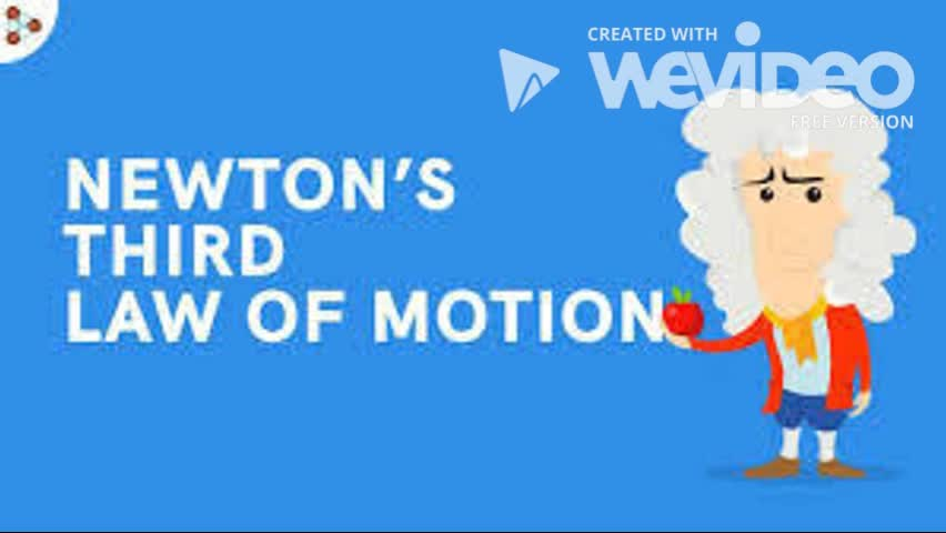 5.1 Newton's Third Law of Motion
