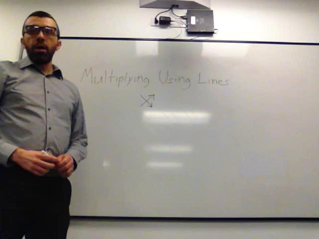 Japanese Multiplication/Multiplying Using Lines