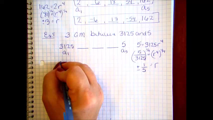 Geometric Sequences and Series Part 2B