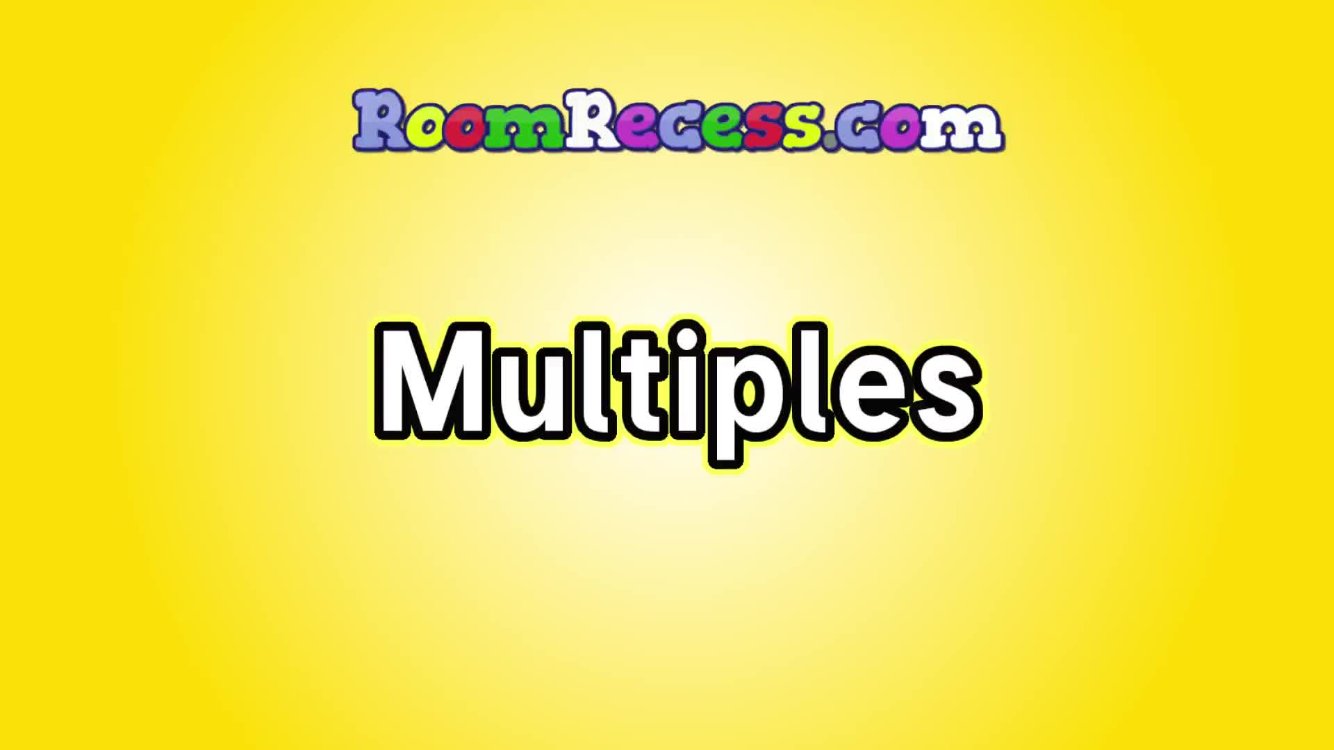 Multiples by RoomRecess.com