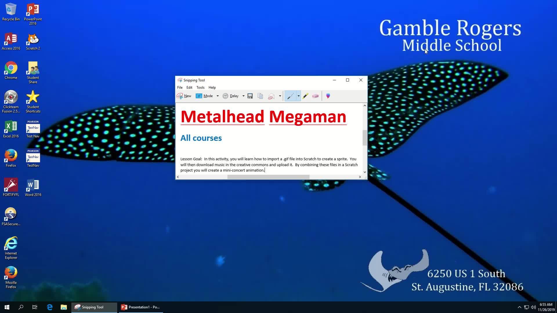Metalhead Megaman Video Instructions