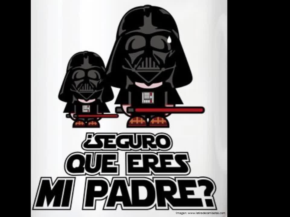 ¿Y tu eres en mi padre?