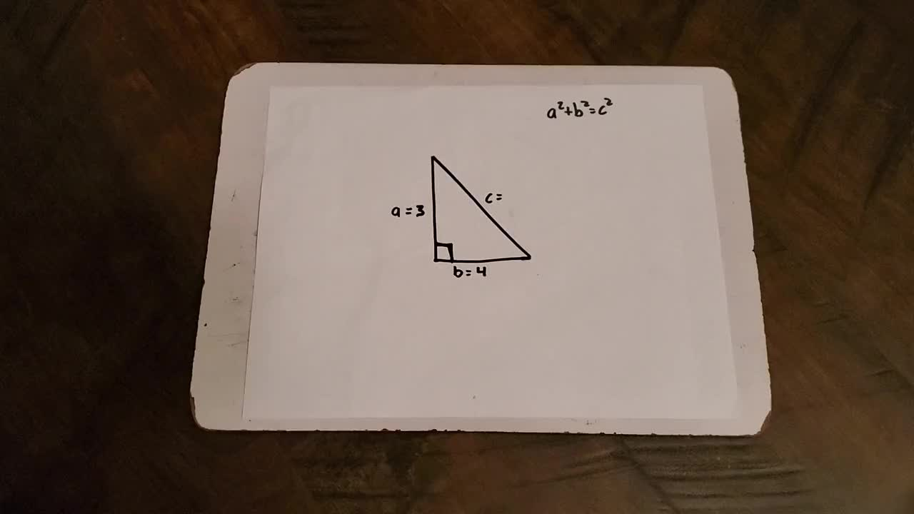 How To Find The Missing Hypotenuse