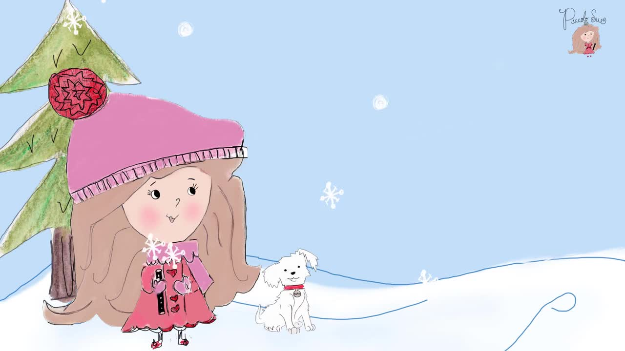 SONG VIDEO:  Snowy Snowy Snowflakes